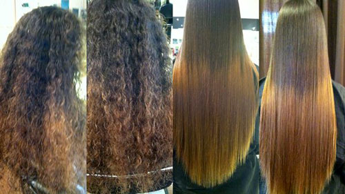 Straighten, before & after